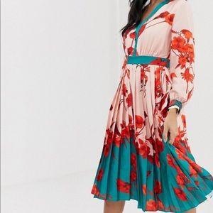 Ted Baker Floral Dress- Brand New